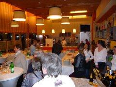 Einweihungsveranstaltung im Restaurante